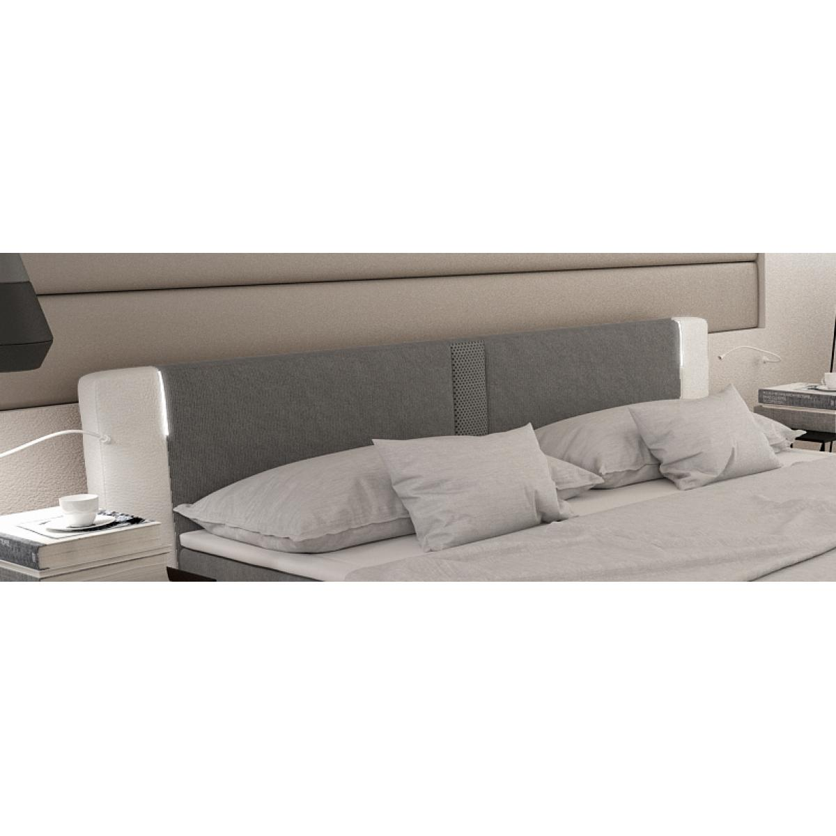 boxspringbett 180x200 doppelbett hotelbett polsterbett ehebett bett wei ebay. Black Bedroom Furniture Sets. Home Design Ideas