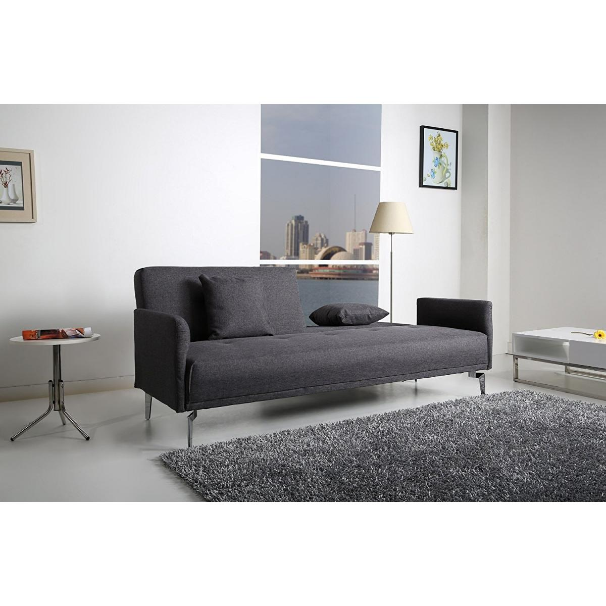 Schlafsofa 199x86 Schlafcouch Garnitur Sofa Lounge Couch