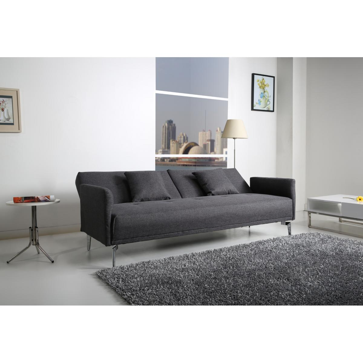 helsinki sofa dunkelgrau couch sofagarnitur schlafsofa. Black Bedroom Furniture Sets. Home Design Ideas