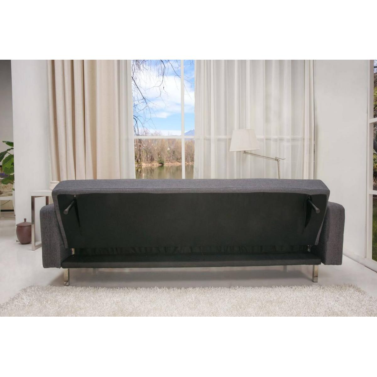schlafcouch schlafsofa couch sofa schlaffunktion sofagarnitur stoff grau. Black Bedroom Furniture Sets. Home Design Ideas