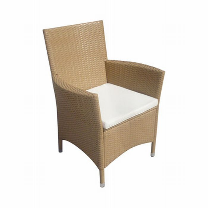 2 xpolyrattan rattan kunststoff sessel korbsessel polygeflecht alugestell garten ebay. Black Bedroom Furniture Sets. Home Design Ideas